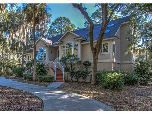 One of Hilton Head Island 4 Bedroom Gated Homes for Sale
